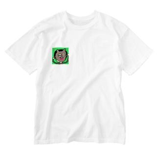 お面マン!トゥ! Washed T-shirts
