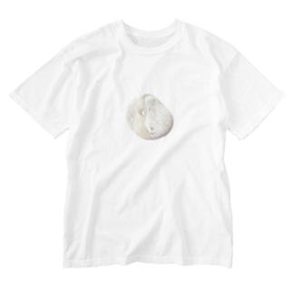 ミントチョコみたいな石 Washed T-shirts