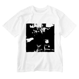 ブラック・コーク Washed T-shirts