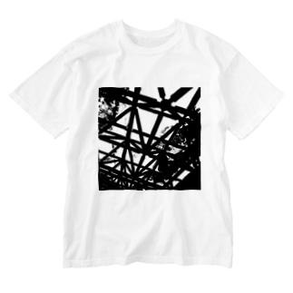 CLOUDY SKY Washed T-shirts