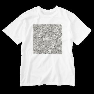 IZANAGIのみゅ~~じっく! Washed T-shirts