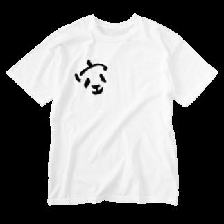 おみの空パンダ Washed T-shirts