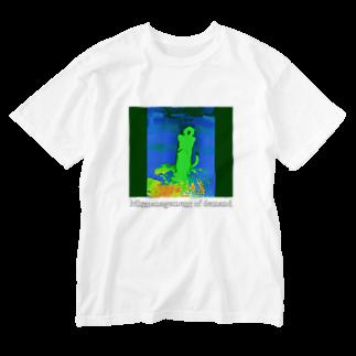 Orihamo TのDISMANAGEMENT Washed T-shirts