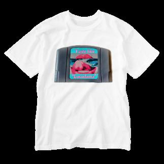 """Orihamo TのTaste like """"kusudama"""" Washed T-shirts"""