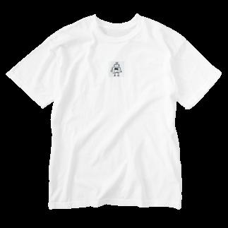mashibuchiのkasurerobo Washed T-shirts