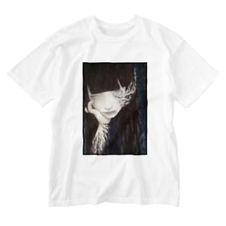 霊 Washed T-shirts