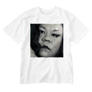 SADAHARU HIGA HAUTE COUTURE・アムロにはなれなかったけどトシミにはなれた女装2。  Washed T-shirts