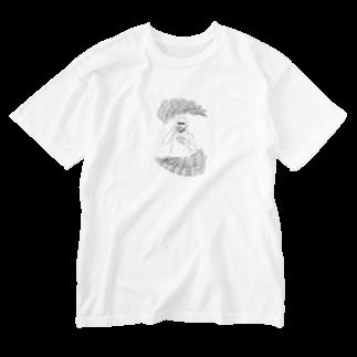 art_posca_drawingのシリアルキラー Washed T-shirts