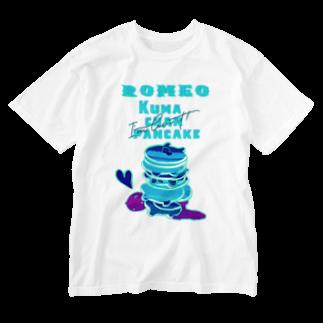 SHOP ROMEO のRomeo kumachan pancake N Washed T-shirts