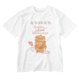 Romeo kumachan pancake Washed T-shirts