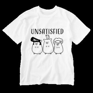 Piso Store on Suzuriの不満ハムスター Washed T-shirts
