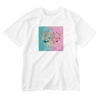 LOVE NICOLE Washed T-shirts