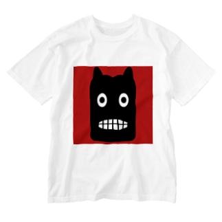 【 黒鬼: Black demon 】 Washed T-shirts