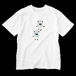 mashibuchiのロボット2 Washed T-shirts