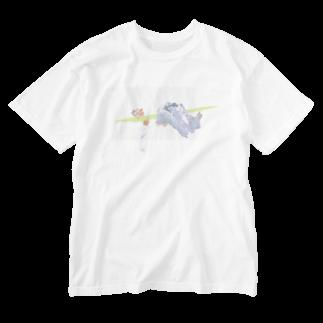 onigiriumeeの54321 Washed T-shirts