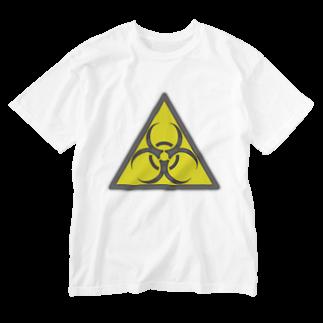 AURA_HYSTERICAのBIOHAZARD Washed T-shirts