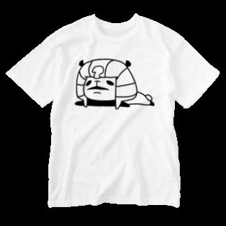NEKOZE PANDAのツタンカーメンパンダ  Washed T-shirts