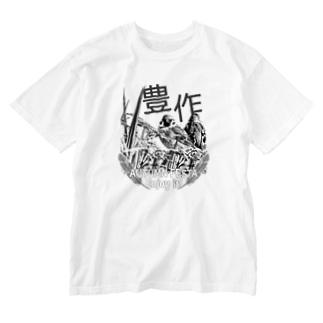 東京すずめ Washed T-shirts