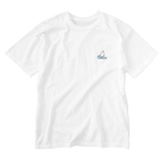 ワンポイントブリだいこん Washed T-shirts