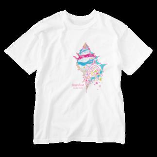 Come  come  こめくるの貝殻の中の星屑 Washed T-shirts