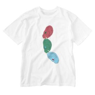 つらなる。 Washed T-shirts