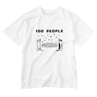 井戸ピープル Washed T-shirts