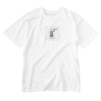 ダサくてこんなのいらないシリーズ Washed T-shirts