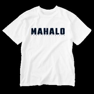 HSC ハワイスタイルクラブのJust MAHALO Washed T-shirts