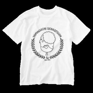 フラットファミリーのIN 1st_dark gray line Washed T-shirts