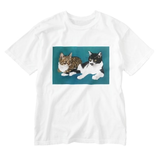 ぐりこ&はっち Washed T-shirts