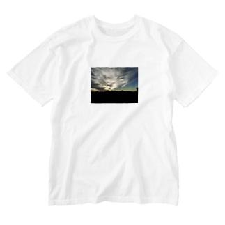 イケ空 Washed T-shirts