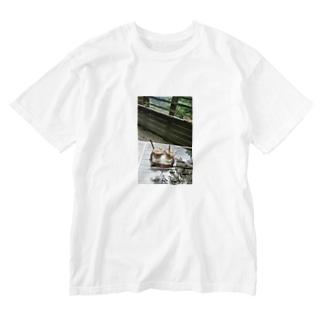 箱根にて Washed T-shirts