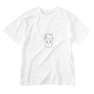 フラペチーノ Washed T-shirts