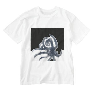 octopus Washed T-Shirt