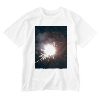 201908手持ち花火 Washed T-shirts