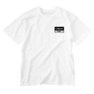 LYBICATエンブレム レクタングル Washed T-shirts