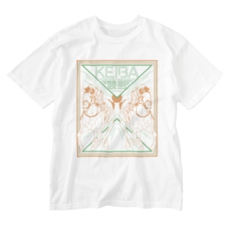 KEIBA(Bタイプ) Washed T-shirts