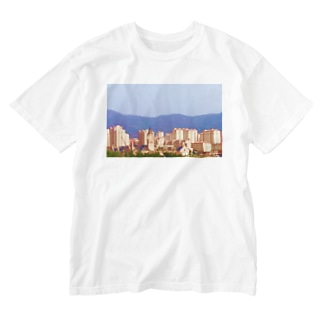 TOP OF THE CITY Washed T-shirts