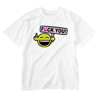 F●CK YOU Washed T-shirts