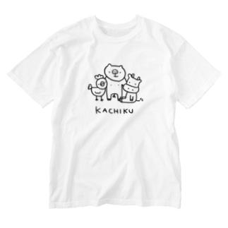 KACHIKU Washed T-shirts
