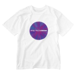 時空の歪み Washed T-shirts