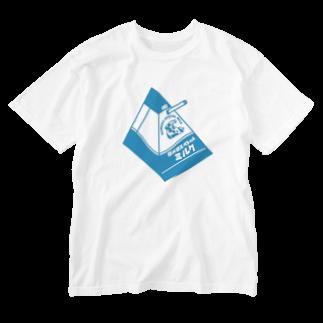 LUCHAのロメロスペシャルミルク#3 Washed T-shirts