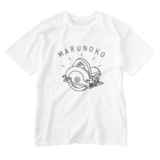 AliviostaのDIY丸ノコ 電動工具イラスト 大工 Washed T-shirts
