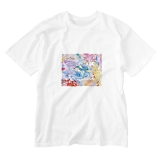 palette.2(横ver.) Washed T-shirts