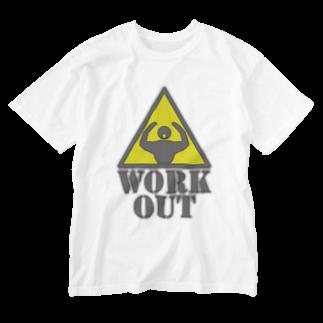 AURA_HYSTERICAのWorkout Washed T-shirts