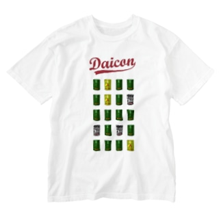 DaiconT(オモテのみ) Washed T-shirts