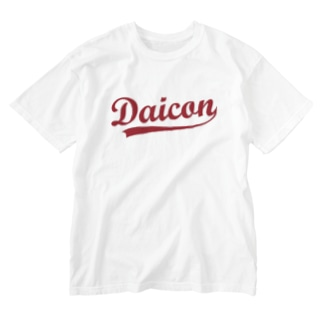 DaiconT(ウラオモテ) Washed T-shirts
