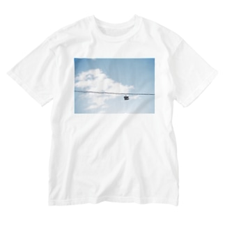 IN THE FLIGHT Washed T-shirts