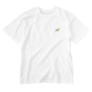 なんとかヴァイン Washed T-shirts
