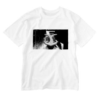 操り人間 Washed T-shirts